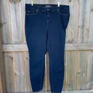 Torrid Jeans denim blue stretchy size 22 Tall